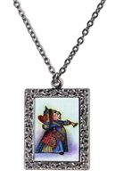 Alice in Wonderland - The Queen of Hearts Necklace