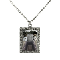 Vintage Pendant Necklace - Children by Open Grave