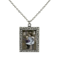 Vintage Photo Pendant Necklace - Dark Dorothy