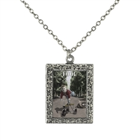 Fool Tarot Card Necklace