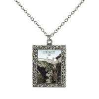 Hermit Tarot Card Necklace