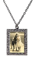 Vintage Photo Pendant Necklace - My First Pony