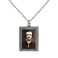 Edgar Allen Poe Frame Necklace