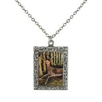 Frida Kahlo Little Hart Frame Necklace