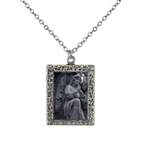 Nightfall Angel  Frame Necklace