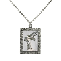Daybreak Angel  Frame Necklace