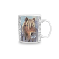 I Eat Grass and I Know Things Pony Mug