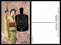 Geisha with a Gun Postcard Set