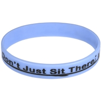 Don't Just Sit There, Fly! Motivational Bracelet