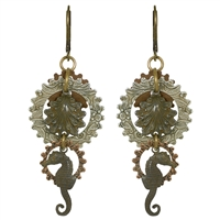 Sea Me Steampunk Earrings