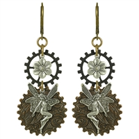Steam Fairy Steampunk Earrings