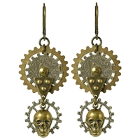 Gearhead Earrings