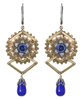 Mina Harker Steampunk Earrings
