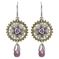 Elizabeth Barrett Steampunk Earrings