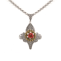 Joan of Arc Steampunk Necklace