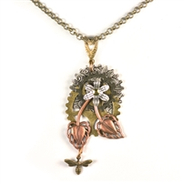 Susan B Anthony Steampunk Necklace