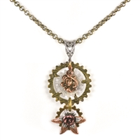 Sybil Ludington Steampunk Necklace