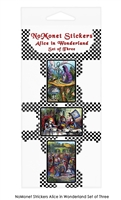 Alice in Wonderland Sticker Set