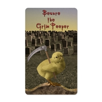 Beware the Grim Peeper Sticker
