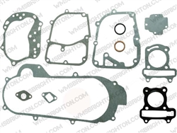 12pc Gasket Kit for Short Case, 50cc GY6 Scooter