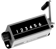 Trumeter 1-2936 Mechanical Stroke Counter Top Coming