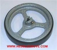 3MRCW 1/3rd Metre rubber covered metal wheel