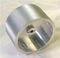 401124-01 Knurled Aluminium 0.5Mtr Measuring Wheel