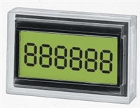 Trumeter 7000AS  6 digit Add/Subtract LCD totalising counter.