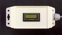 7111INBOX - A Trumeter 7111 self powered digital pulse counter mounted in box.