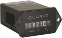 Trumeter 722-0001 Hour meter 2 HOLE RECTANGULAR 90-265VAC 50/60Hz
