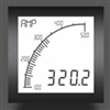 Trumeter APM-AMP-APO 72 x 72 Ammeter Positive LCD with relay output.