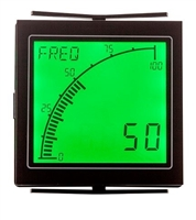 Trumeter APM-FREQ-ANO 72 x 72 Freq Meter Negative LCD with Relay Outpu