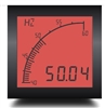 Trumeter APM-FREQ-APO 72 x 72 Frequency Meter Positive LCD with relay output.