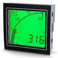 Trumeter APM-M2-APO AC Mains Powered Meter Positive LCD with Relay