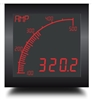 Trumeter APM-SHUNT-ANO 72 x 72 Shunt Meter Negative LCD with relay output.