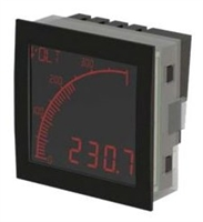 Trumeter APM-VOLT-ANO 72 x 72 Voltmeter Negative LCD with Relay