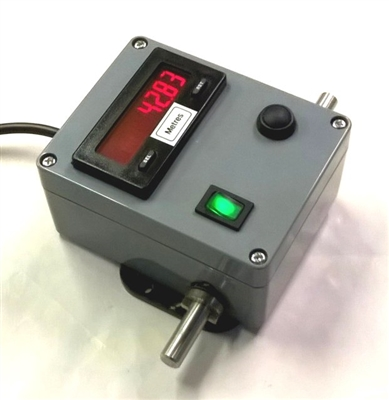 ERC50 Electronic Revolution Counter with built in encoder and digial display.