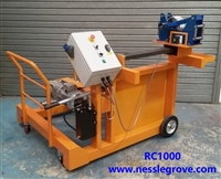 RC1000 Electric Cable Coiling Machine / Cable rewinding Machine