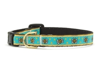 Unique Cat Collar Honey Bees SaltyPaws.com