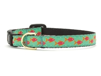 Unique Cat Collar Tropical Ocean Fish SaltyPaws.com