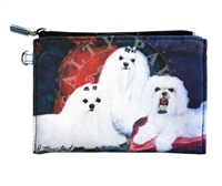Maltese Coin Purse Available At SaltyPaws.com