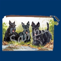 Scottish Terrier Coin Purse Available At SaltyPaws.com