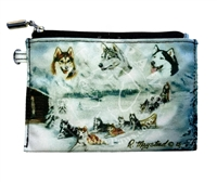 Siberian Husky Coin Purse Available At SaltyPaws.com