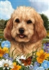 Cockapoo Small Decorative Garden Flag