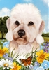 Dandi Dinmont Terrier Small Decorative Garden Flag