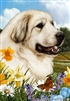 Great Pyrenees Small Decorative Garden Flag