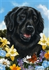 Flat Coated Retriever Small Decorative Garden Flag