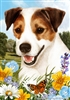 Jack Russell Terrier Small Decorative Garden Flag