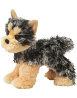 "Yorkshire Terrier Plush Stuffed Animal ""Yonkers"" SaltyPaws.com"