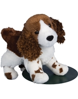 "Springer Spaniel Plush Stuffed Animal ""Flair"" SaltyPaws.com"